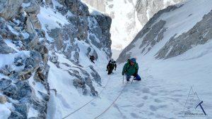 изкачване-по-северната стената-на-Вихрен