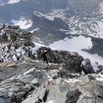 изкачване с алпийкси водач в Алпите