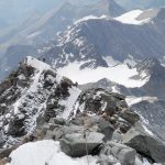 изкачване с водач в Алпите
