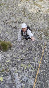 Изкачване с алпийски водач на Злия зъб